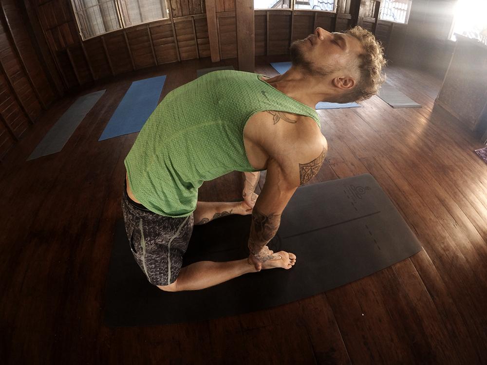 yoga pose - ustrasana